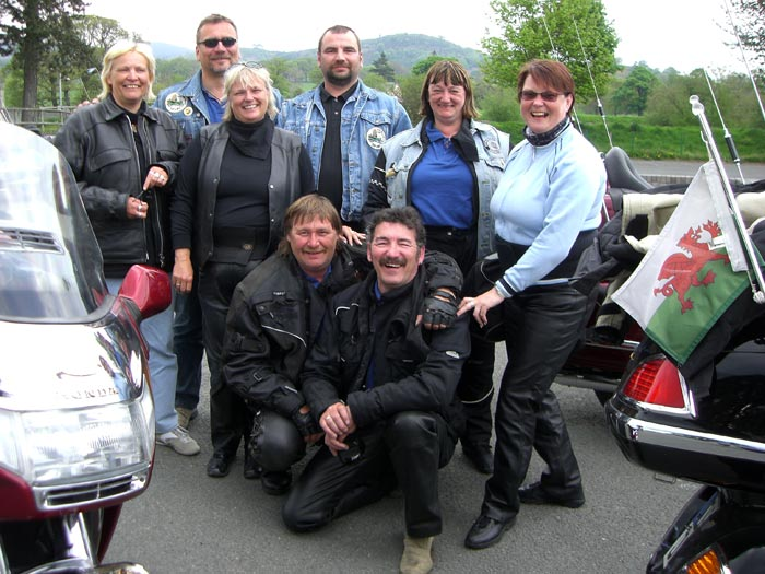 Jimi Jones touring group rideout
