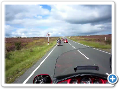 North York Moors rideout (on-bike view)
